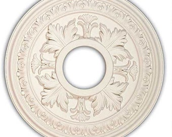 "15 3/4"" Ceiling Medallion for Chandelier or Fan. Available in many Finishes or Custom Color."