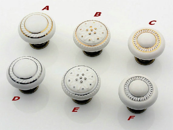 knobs ceramic black drawers pull white drawer door vintage grey pulls cupboard pin china porcelain ebay