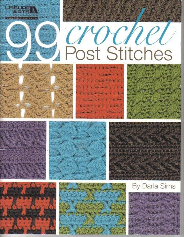 99 Post crochet puntadas libro ocio artes libro de