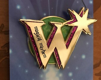 Fred and George Weasley Inspired Lapel Pin.  Magical Mayhem.