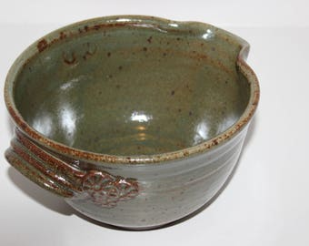 Handmade Ceramic Batter Bowl