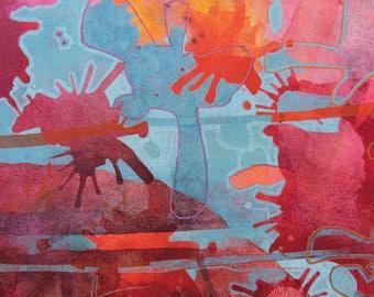 Splash, Giclée Print, Open Edition Print, Signed by Artist