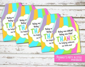 INSTANT DOWNLOAD - Baby - Oh The Places You'll Go Tags