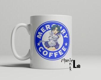 Sailor Mercury Starbucks Coffee Mug