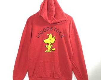 Peanuts Woodstock Hooded Red Color