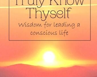 Digital Book: Truly Know Thyself