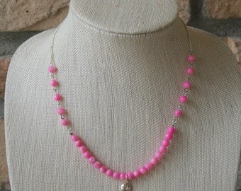 Breast Cancer Support Necklace