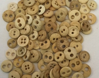 Lot 107 Antique Bone Underwear Buttons Old Utilitarian CivilWar Era