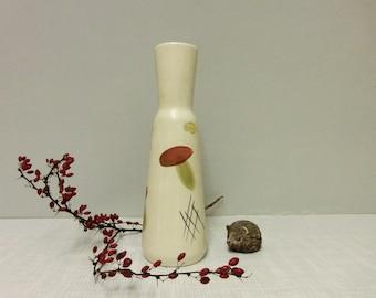 Bay pottery vase 661/25 mushroom decor 60s