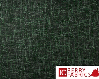 Dark Green Basic Tonal Fabric, Matrix by Quilting Treasures, Quilt or Craft Fabric, Fabric by the Yard