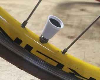 Coffee Cup Valve Caps | bicycle, cycling, coffee lover, chocolate milk, latte, 3D printed, screen print, BMX, valvecap