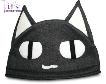 Sony - Kuro Hat / Fleece Hat / Winter Hat / Sony Hat / Cat Hat / Video Game Characters