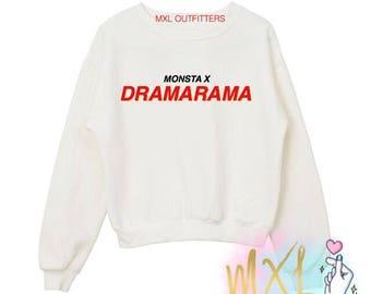 Dramarama / Monsta X crewneck sweatshirt
