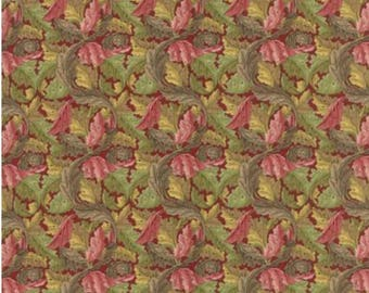 William Morris Reproduction Fabrics From the Victoria and Albert Museum Exclusively for Moda 7304 14 Acanthus