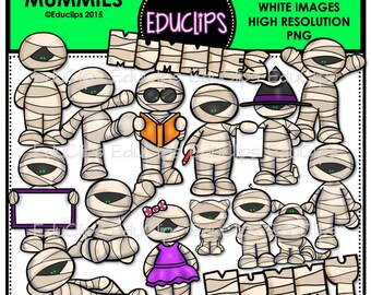 Mummies Clip Art Bundle