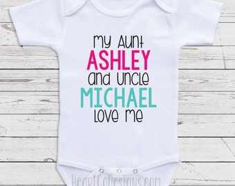 Grandpa grandad pop pop baby clothes i love my grandpa custom baby clothes my aunt and uncle love me personalized baby clothes for negle Gallery