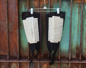 Studded Boot Cover Stirrups - XL