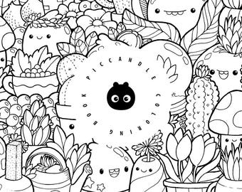 Pic Candle Doodle Coloring Book
