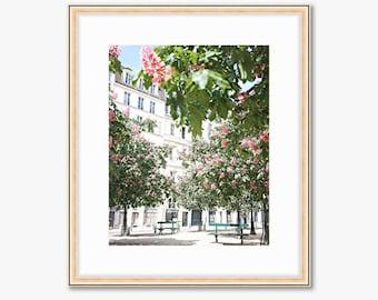 Paris Photograph -- Place Dauphine -- Travel Photography -- 8 X 10 Inch Print