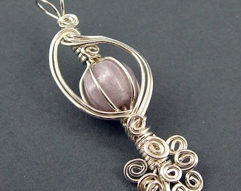 The Caged Bird's Song Pendant  - Wire Wrapping Tutorial