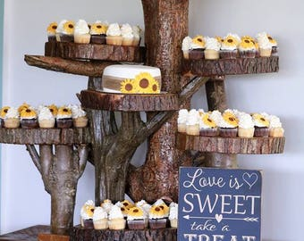Love is Sweet wooden sign