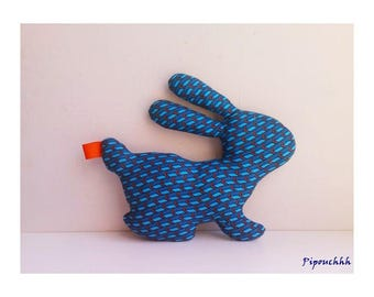 Decoration / toy blue Orange arrow
