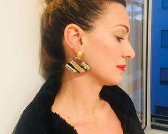 Earrings Vintage Years 80