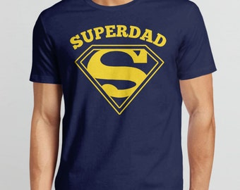 Super Dad Shirt   Dad Gift for Father, Gift for Dad T-Shirt, Gift for Husband Tshirt, Superdad Shirt, Superhero Dad, New Dad Gift for Him