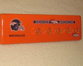 Denver Bronco's key rack