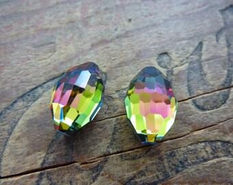 Vintage Rhinestone Big Swarovski Crystal Article 4871 Corona (2)
