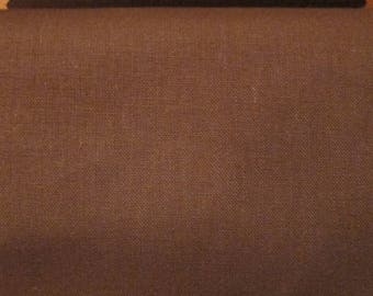 Chestnut brown 100% cotton fabric