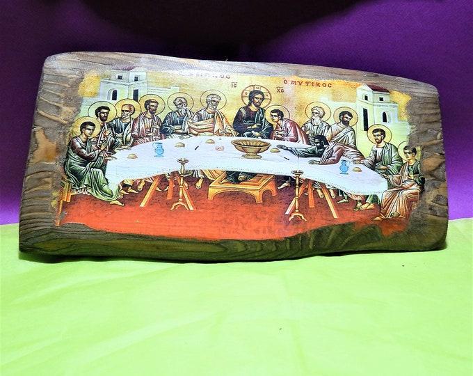 Secret Dinner Jesus And Student Handmade Christian Religious