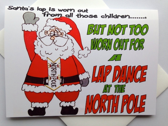 adult christmas cards for women