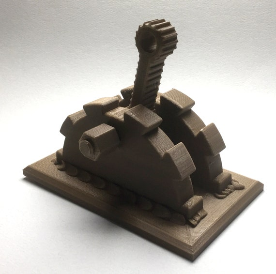 3d Printed Steampunk Gears Light Switch Cover Single Switch