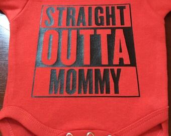 Straight Outta Mommy Onesie