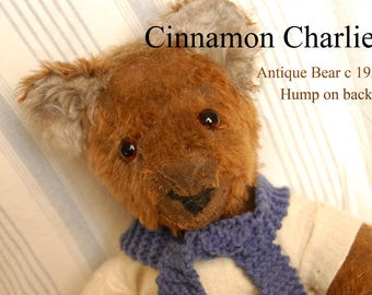 "Antique Teddy Bear - Unknown Origin Possible German Make 20 """