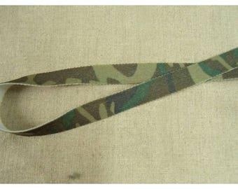 Ribbon elastic Camo military 1.50 CM