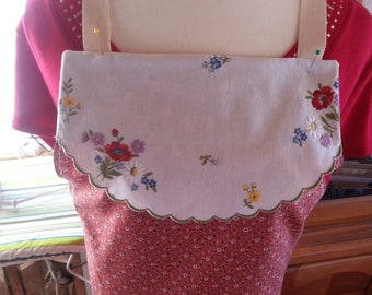 Floral Full-Size Apron