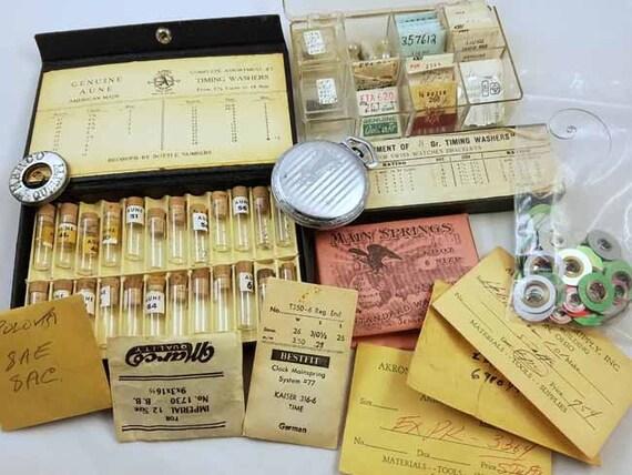 watch parts, vintage watch, watch maker, watch repair, watch supply, watchmaker, pocket watch, watch tools, wrist watch