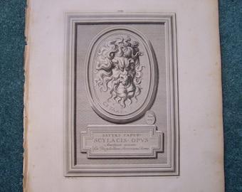 Satyr Antique Print