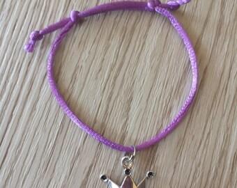 10 Princess Crown Friendship Bracelet Party Favors.