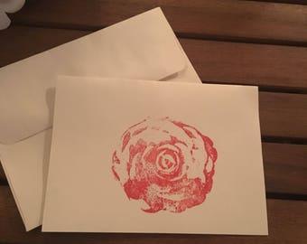 Floral stationary set