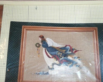 Lavender & Lace The Second Angel Of Freedom Cross Stitch Pattern