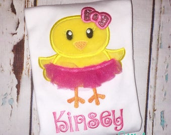 Chick Tutu Shirt, Bodysuit, Bubble, Romper