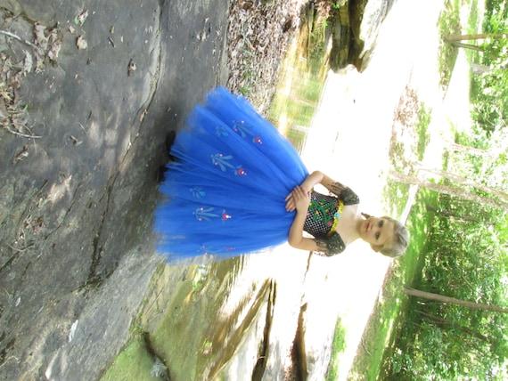 anna la reine des neiges deguisement robe de la reine des neiges robe anna reine des neiges princesse des neiges robe de princesse anna - Robe Anna Reine Des Neiges