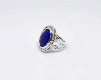 Ring Lapis Lazuli and Silver 925/1000