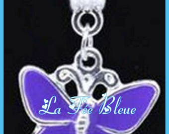 Pendant/Charms/charm Butterfly with clip