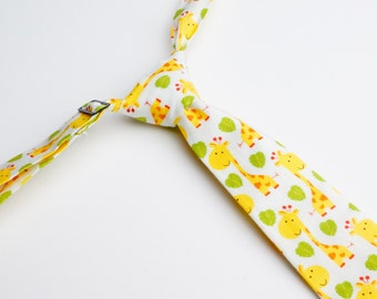Hungry Giraffes Neck Tie With Adjustable Strap