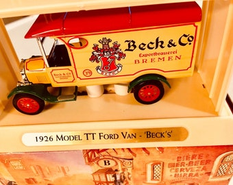 Matchbox  Models of Yesteryear collection 1926 Model TT Ford Van  Great Beers of World BECKS  YGB02