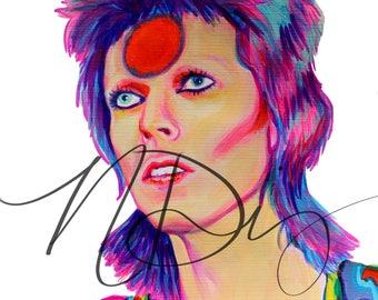 David Bowie 5X7 print